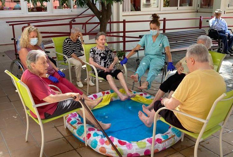 La Residència Verge del Remei celebra l'aplicació del nou protocol per a visites de familiars i l'eliminació de sortides de residents