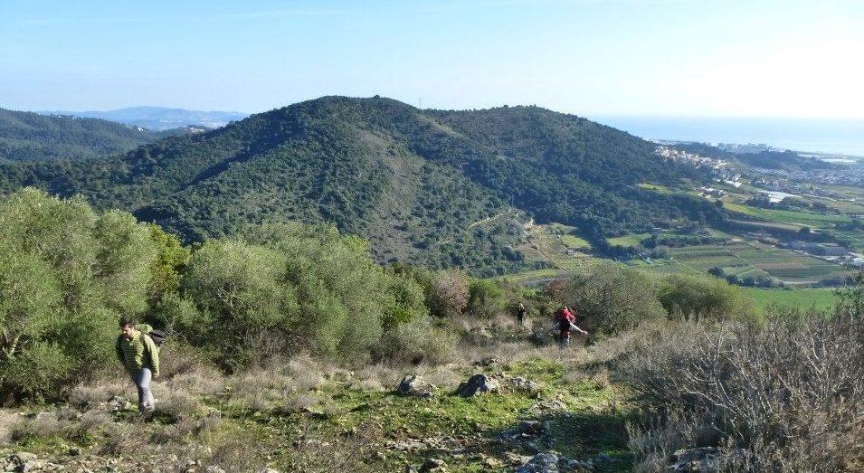Es posposa una setmana l'excursió per anar caminant fins dalt del turó de Montpalau a Pineda