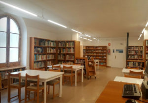 La Biblioteca disposa d'un fons de llibres d'art, dibuix i pintura