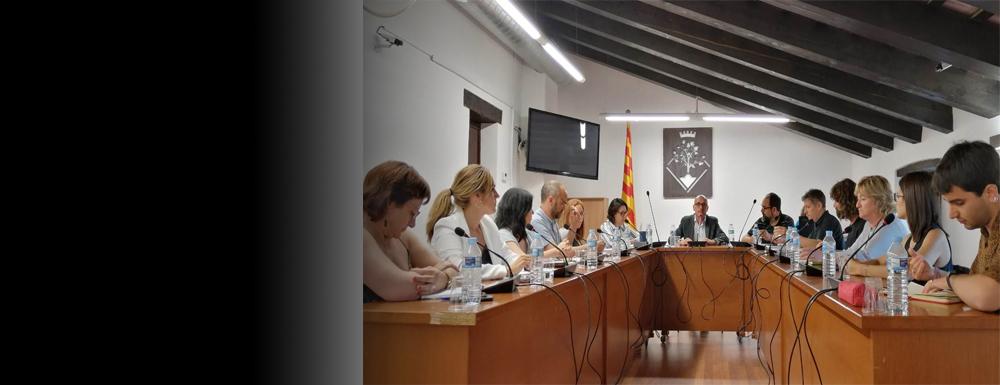L'alcalde ha presentat els 6 regidors que conformen el nou govern d'Arenys de Munt