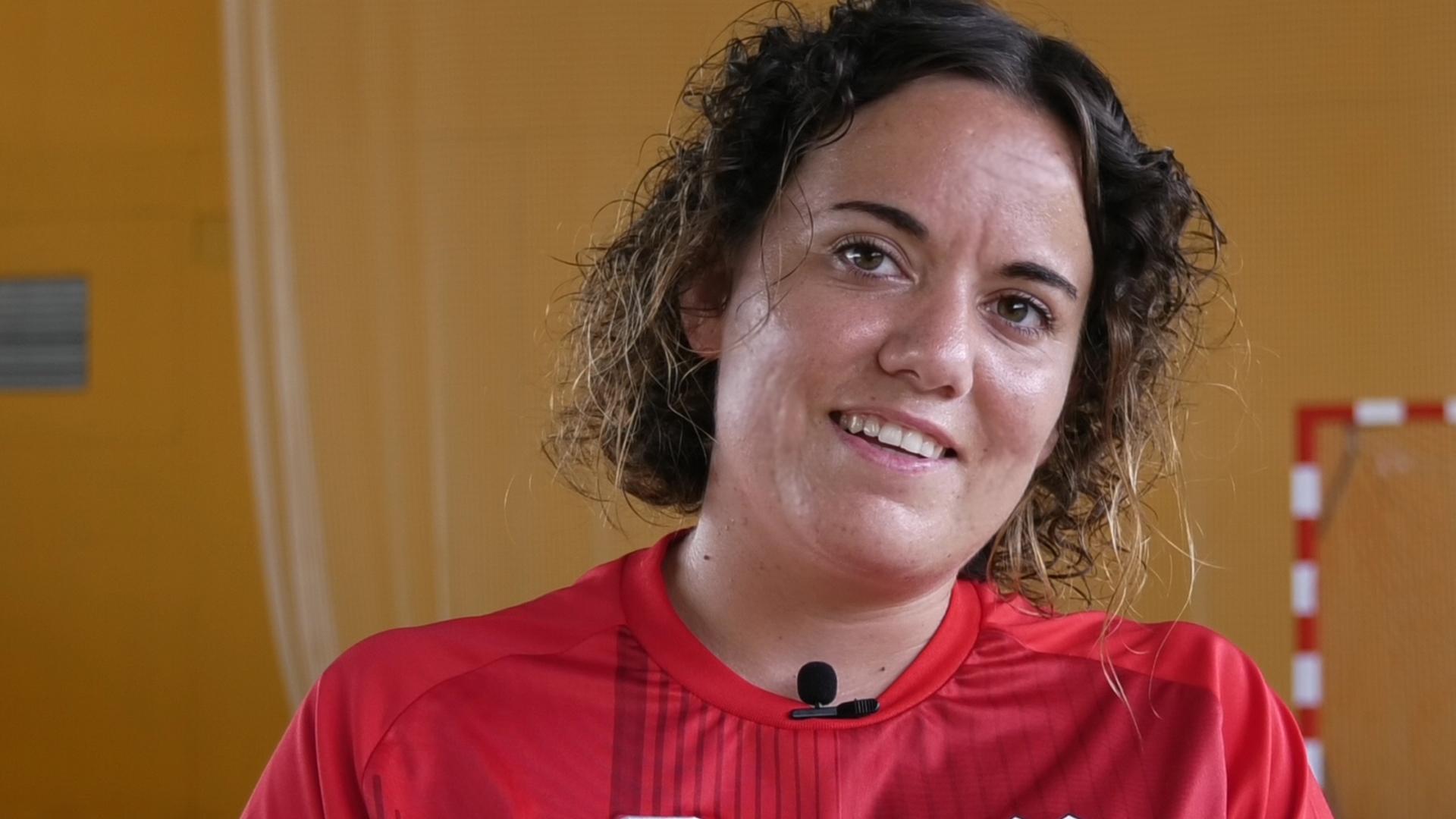 """Tatiana Torres: """"Estic molt orgullosa de les ganes i el compromís que han mostrat els jugadors durant tota la temporada"""""""