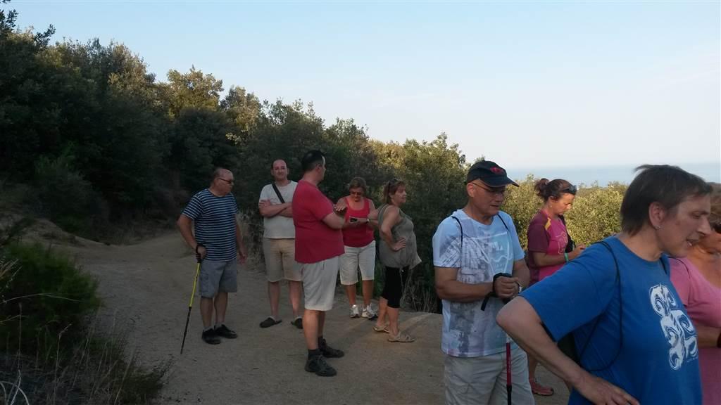 Comença el cicle de caminades a la fresca, que tindran lloc els dimecres del mes de juliol