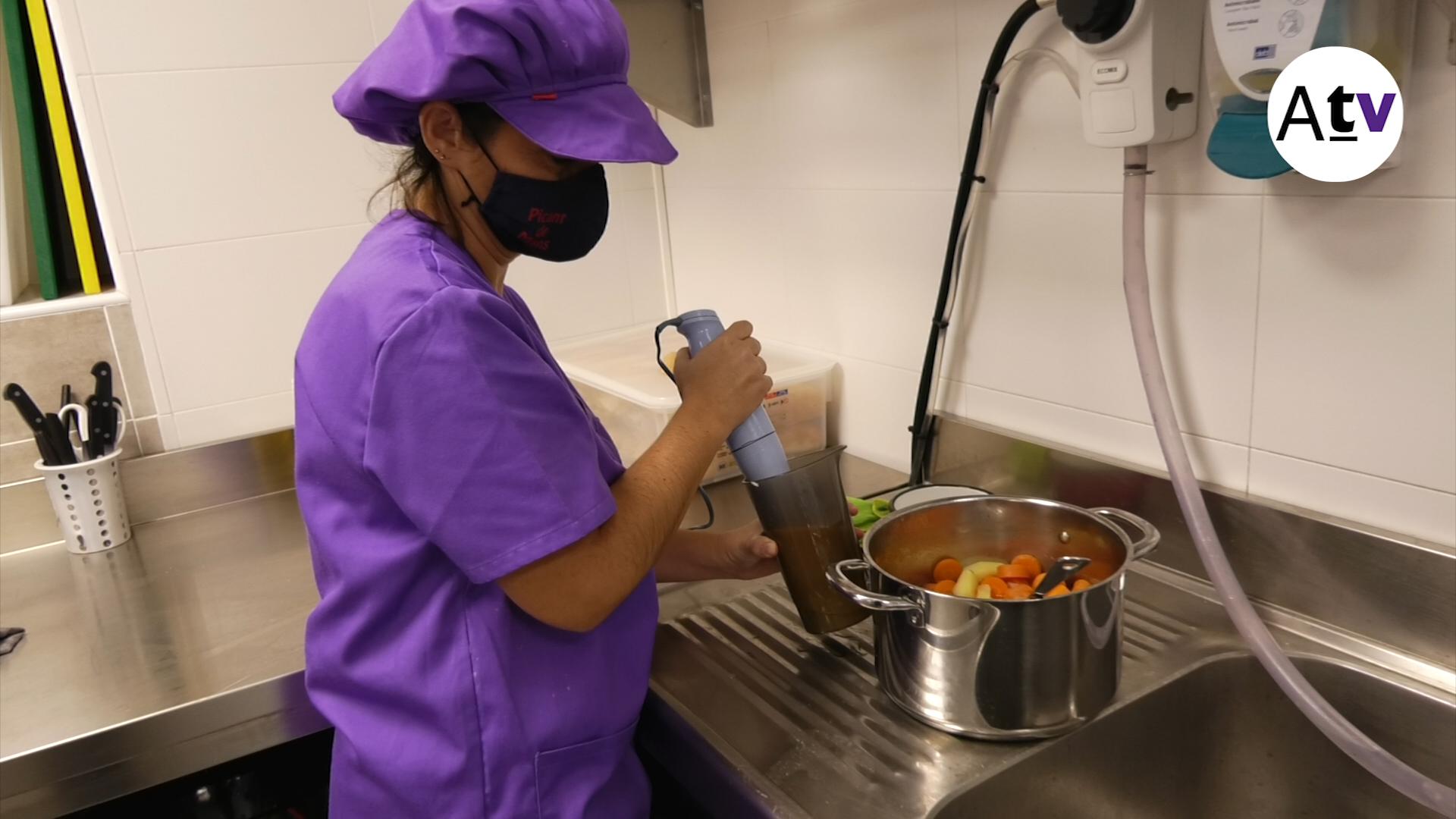 NOU REPORTATGE: L'Escola Bressol la Petjada ja té cuina pròpia i plaques solars