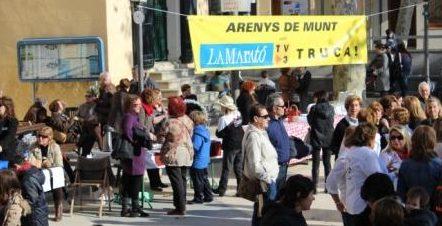 Dissabte i diumenge Arenys de munt serà solidari amb la Marató de TV3